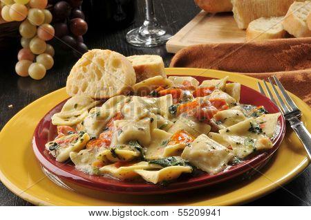 Ricotta And Lobster Ravioli