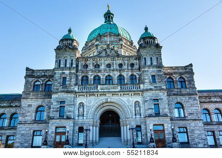 Provincial Capital Legislative Buildiing Victoria British Columbia Canada
