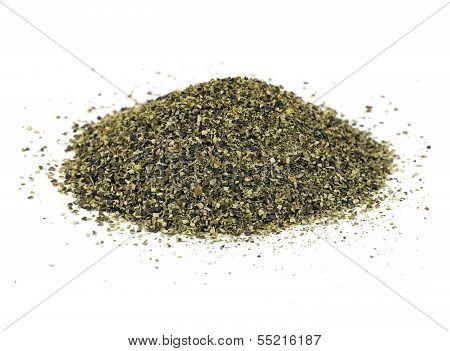 Kelp Meal Pile