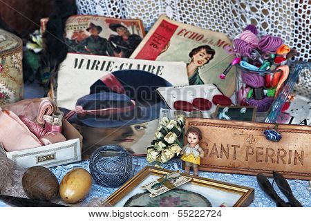 Vintage Small-ware Shop Window