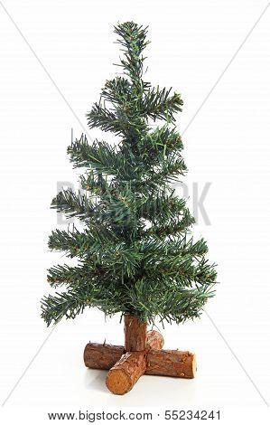 Empty Plastic Christmas Tree