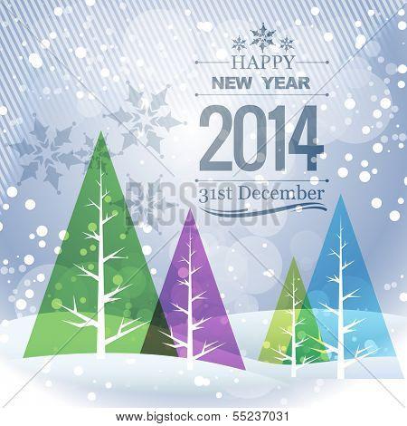 stylish winter new year seasonal holiday greeting