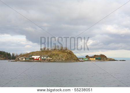 Pipers Lagoon Shacks, Nanaimo