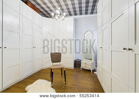 Luxury Wardrobe Room - Interior Design