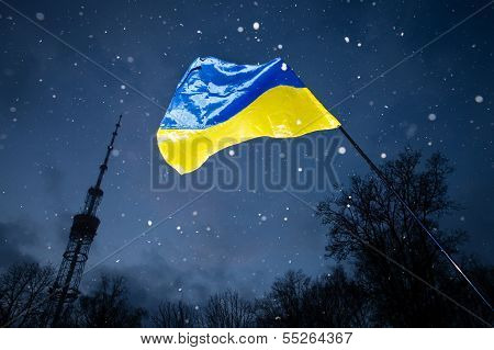 Euromaidan At Night