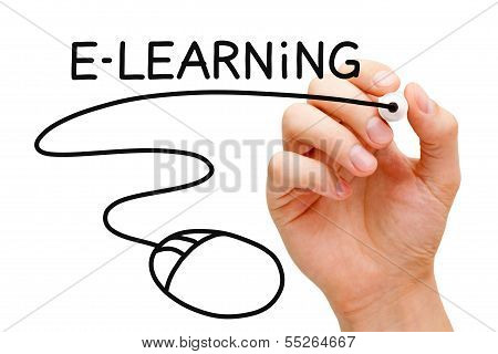 E-learning Mouse Concept