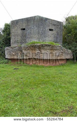 Pillbox, Second World War