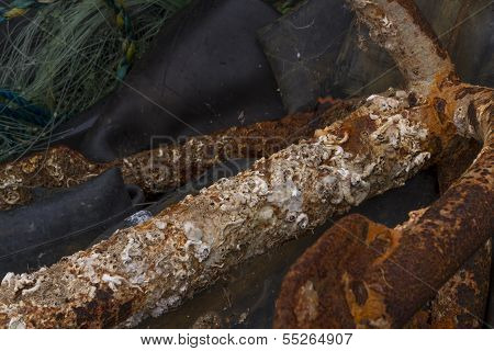 Corroded Metal Bar