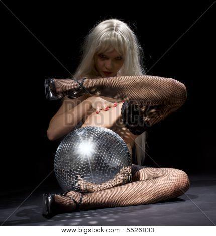Dark Glitterball Dance
