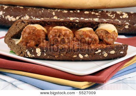 Meatballs Sandwich