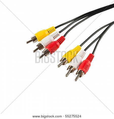 Video cables isolated