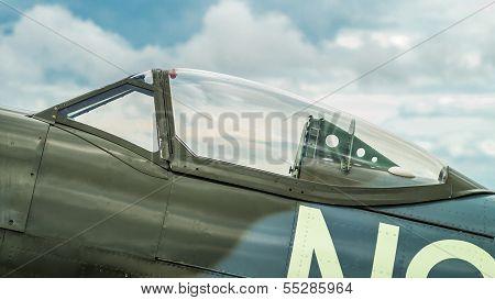 Canopy Of A Supermarine Spitfire Mk. Xvi