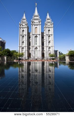 Momon templo em Salt Lake City