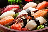 stock photo of scallops  - Japanese Cuisine  - JPG