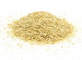 foto of potash  - A pile of soybean meal an ideal organic fertilizer - JPG