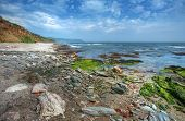 stock photo of devonshire  - Langerstone Point at East Prawle - JPG