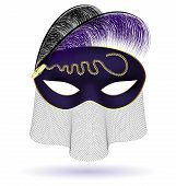 pic of mummer  - on a white background there is a black - JPG