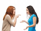 stock photo of bullying  - bullying - JPG
