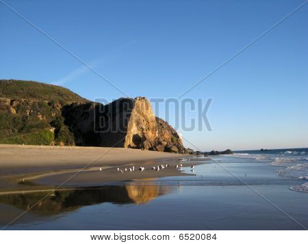 Point Dume in Malibu, California