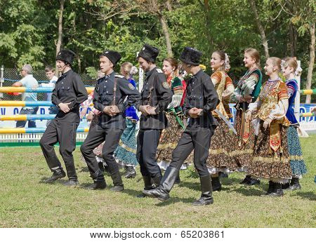 Cossack Ensemble.