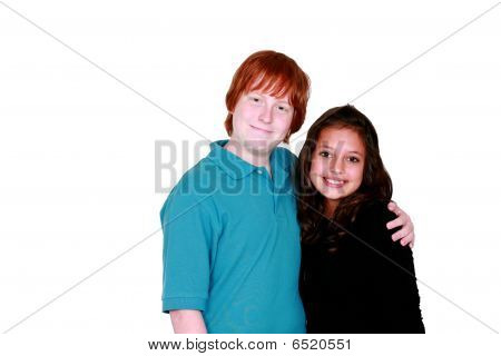 Young Teen Couple