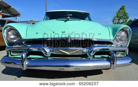 1958 Plymouth Grill