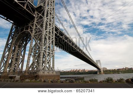 George Washington bridge span