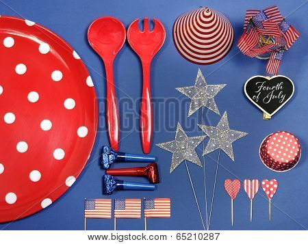 Usa Fourth Of July Party Decorations