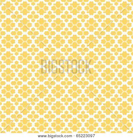 Abstract lattice pattern