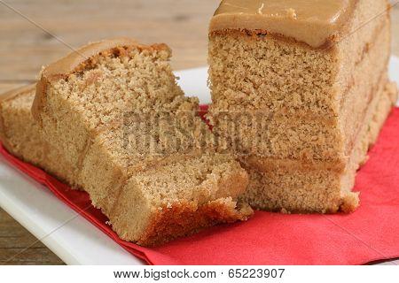 Sliced Coffee Cake