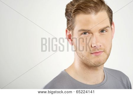Portrait Of Attractive Young Man