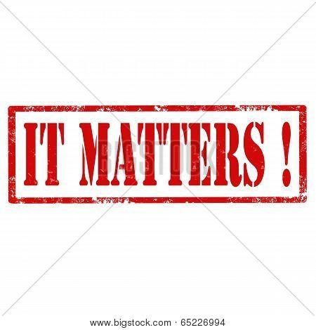 It Matters-stamp