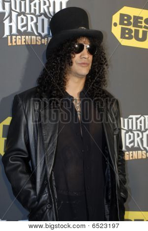 Slash on the red carpet