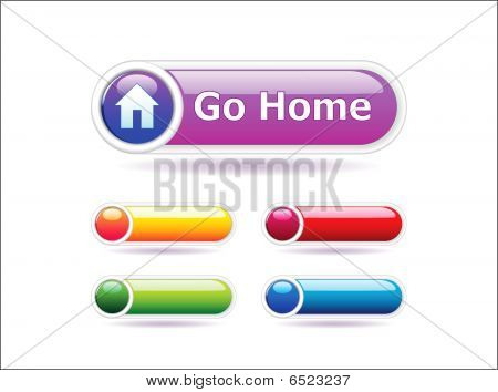 Long vector buttons set