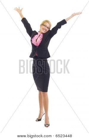 Winning Businesswoman