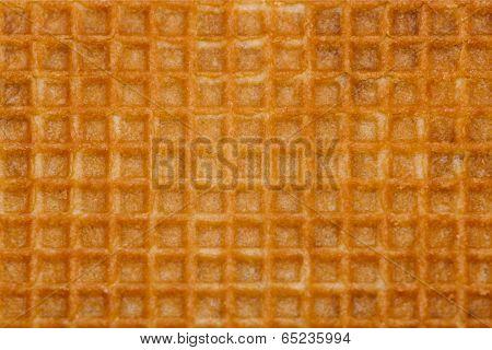 Waffle Yellow Background