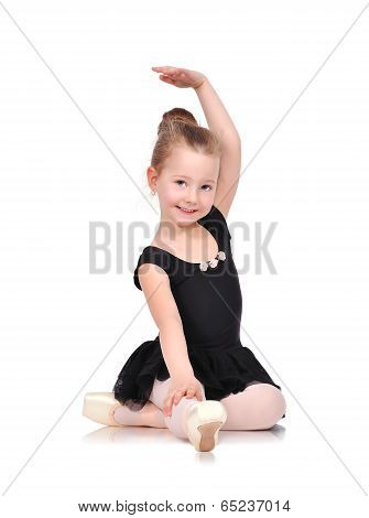 Little Ballerina Sitting
