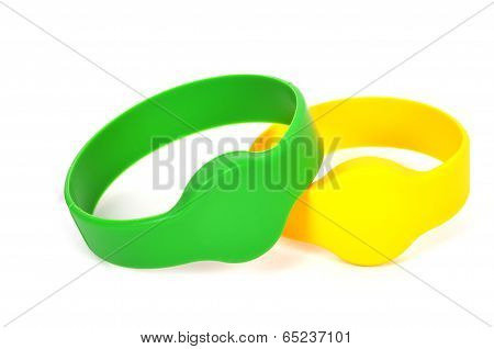 Two Rfid Bracelet