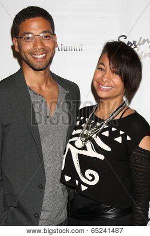 LOS ANGELES - MAY 16:  Jussie Smollett, Raven Symone at the UCLA's Spring Sing 2014 at Pauley Pavilion UCLA on May 16, 2014 in Westwood, CA
