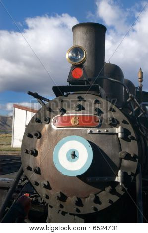 Old Steam Locomotive In Patagonia,  Old Patagonian Express