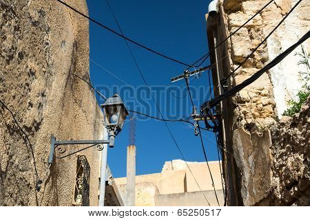 Old Buildings With Wires