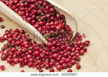 Dried pink peppercorns