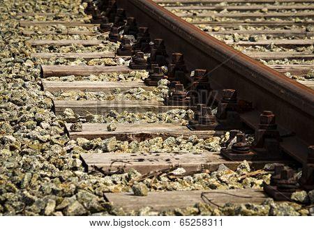 Detail Abandoned Railway Line