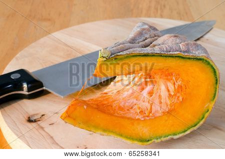 A Piece Of Ripe Pumpkin