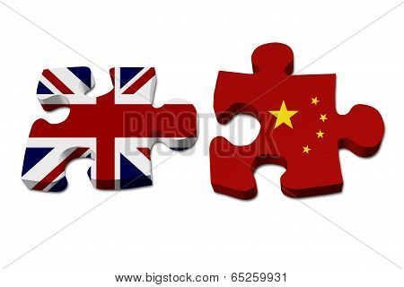 England Working With China