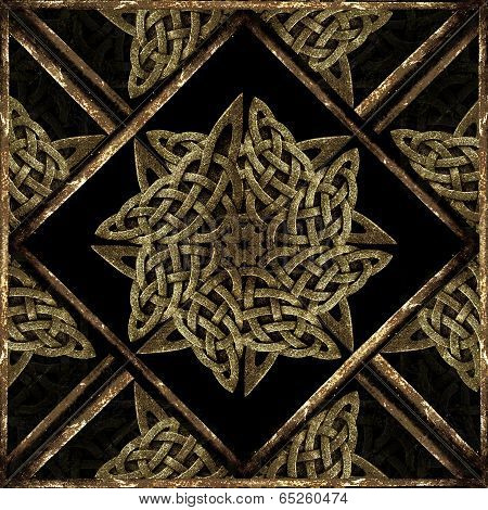 Stone Mystic Symbol Pattern