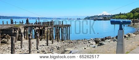 Tacoma, Destroyed Pier.