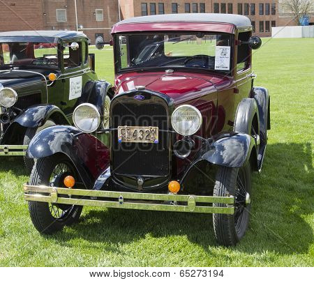 1930 Ford Pickup Truck Front View