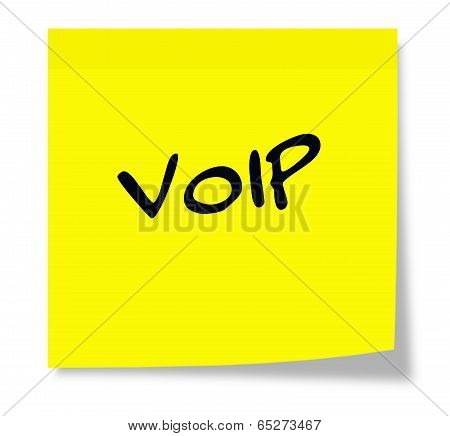 Voip Sticky Note