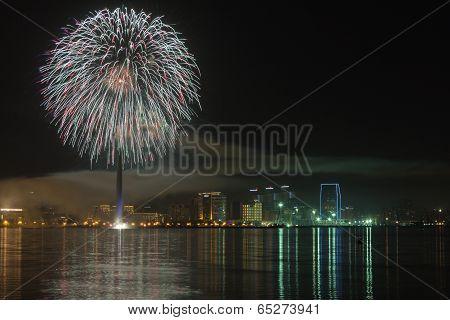 Fireworks in Baku